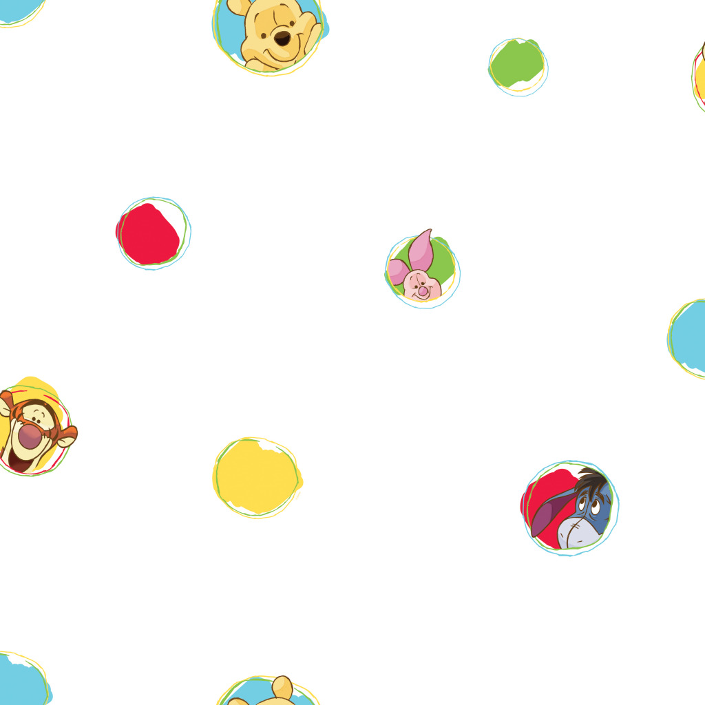 Disney Tapete Winnie Pooh : Pooh A Bother Free Day (70599) Pooh 123 – Bubble Gum (70399) Pooh 123